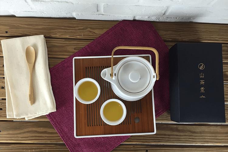 阿里山茶泡茶